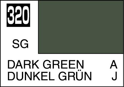MR COLOR C330 Dark Green BS381C/641 Semi-Gloss 10ml