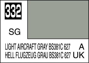 MR COLOR C332 Light Aircraft Gray BS381C/627 Semi-Gloss 10ml