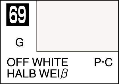 MR COLOR C69 Off White Gloss 10ml