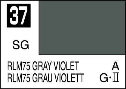 MR COLOR C37  RLM75 Gray Violet Semi-Gloss 10ml