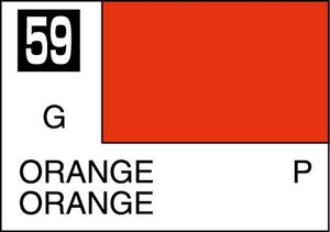 MR COLOR C59 Orange Gloss 10ml