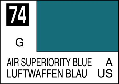 MR COLOR C74  Air Superiority Blue Gloss 10ml