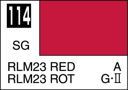 MR COLOR C114  RLM23 Red Semi-Gloss 10ml
