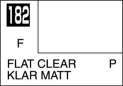 MR COLOR C182 Clear Flat  10 ml