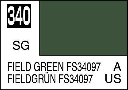 MR COLOR C340  Field Green FS34097 Semi-Gloss 10ml
