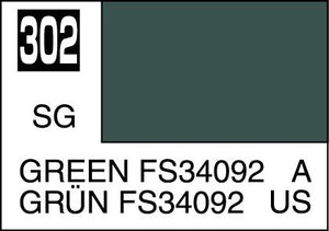 MR COLOR C302 Green FS34092 Semi-Gloss 10ml