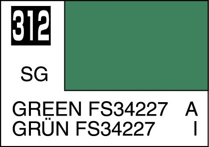 MR COLOR C312 Green FS34227 Semi-Gloss 10ml
