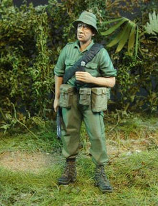 CALLSIGN MODELS CS35026 Australian Infantry Squad Vietnam Multipose set (4) 1:35 Scale