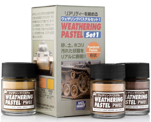 MR HOBBY PP101 No.1 Weathering Pastel Set