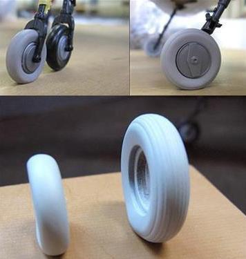Zoukei Mura 1:32 J7W1 Shinden Weighted Tire Wheel Resin Accessory SWS01-M05