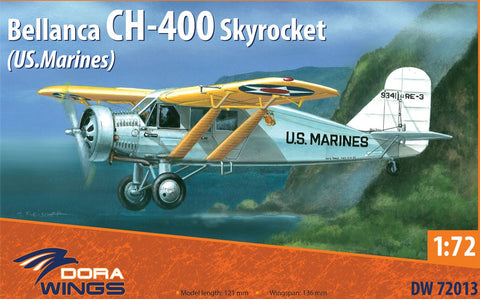 DORA WINGS DW72013 Bellanca CH-400 Skyrocket 1:72 Scale
