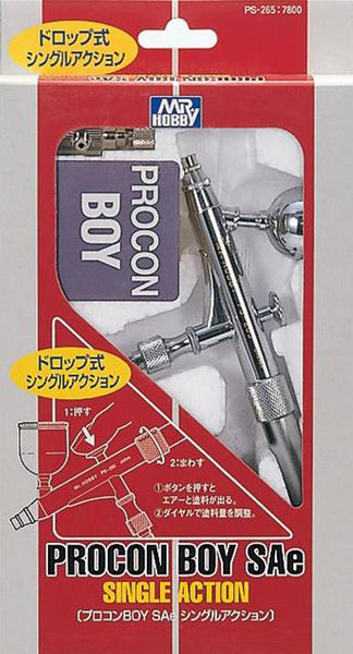 MR HOBBY PS-265 Mr. Procon Boy Single Airbrush, 0.3mm