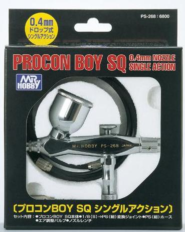 MR HOBBY PS-268 Procon Boy SQ Single Action Airbrush 0.4mm airbrush