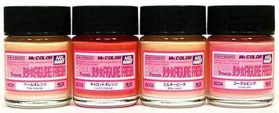 Mr Color Flesh Colour Set For Figures Mr Hobby CS-551