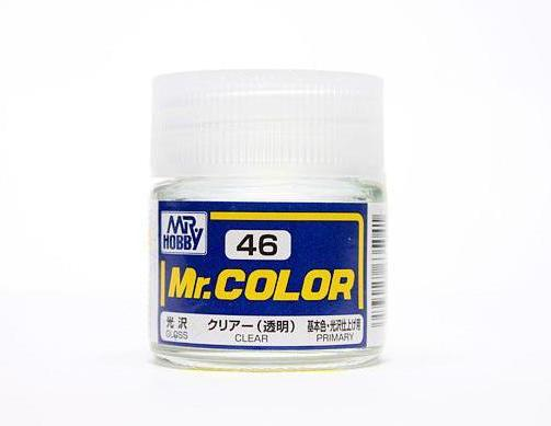 MR COLOR C46  Clear Gloss 10ml