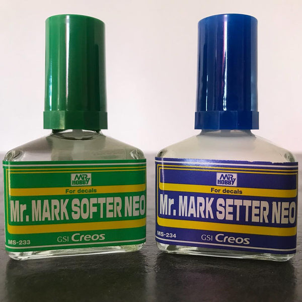 MR HOBBY MS233  Mr.Mark Softer NEO For Decals 40ml