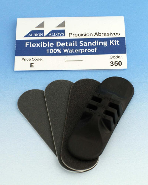Albion Alloys Flexible Detail Sanding Kit Refill Medium # 3502