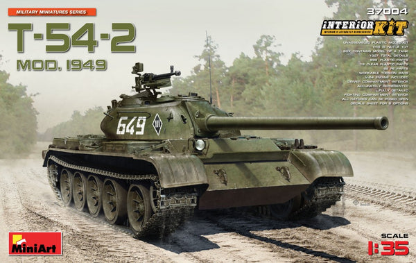 Miniart 37004  T-54-2 Mod. 1949 SOVIET MEDIUM TANK. INTERIOR KIT   1:35