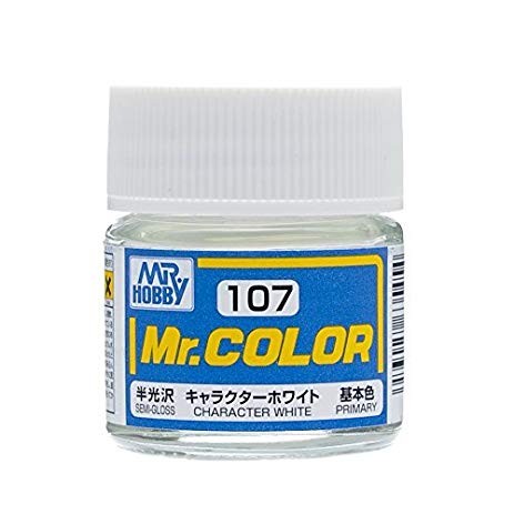 MR COLOR C107 Character White Semi-Gloss  10ml