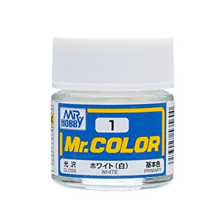 MR COLOR C1 White Gloss 10ml