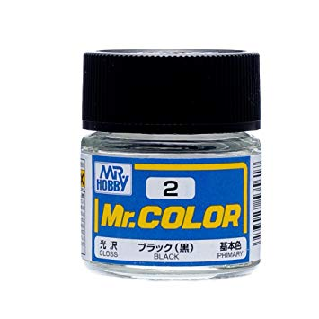 MR COLOR C2 Black Gloss 10ml