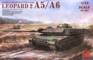 BORDER MODEL 002 Leopard 2 A5/A6/Early A6 3-in-1  1:35 Scale