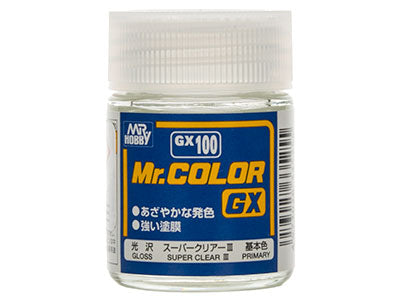 Mr Color GX-100 Super Clear III Gloss