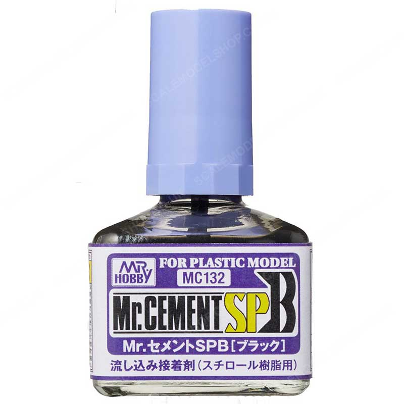 MR HOBBY MC132 40ml Mr Cement SP Black