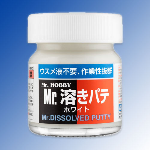 MR HOBBY P119 MR.DISSOLVED PUTTY