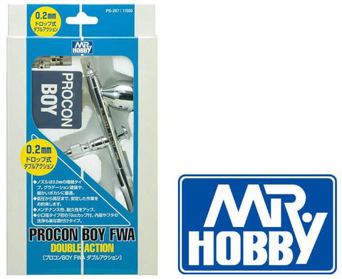 MR HOBBY PS-267  Mr Procon Boy FWA Double Action 0.2mm airbrush