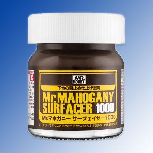 MR HOBBY 40ml Mr Mahogany Surfacer 1000  SF290
