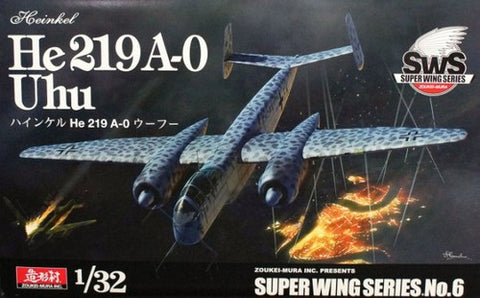 ZOUKEI-MURA SWS06 HE 219 UHU NIGHT FIGHTER 1:32 Scale