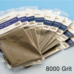 ALBION ALLOYS 2067  8000 Grit Micro Finishing Cloth