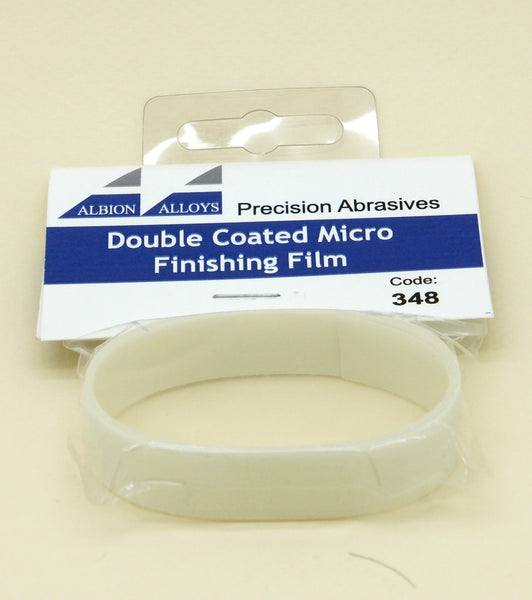 ALBION ALLOYS 348 Double Coated Micro Finishing Film