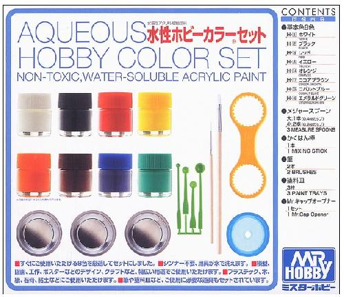 Mr Hobby Aqueous Hobby Color Starter Set # HS-30