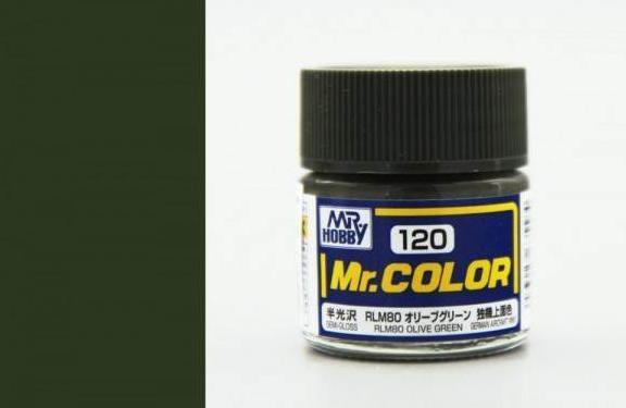 MR COLOR C120 RLM80 Olive Green Semi-Gloss 10ml