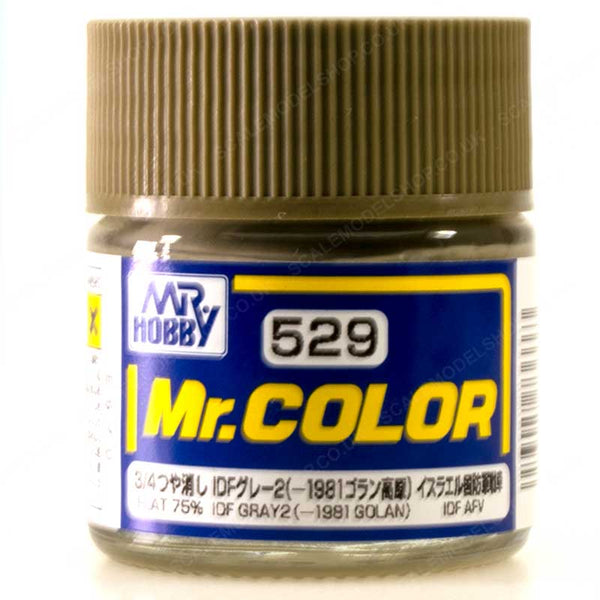 MR COLOR C529  IDF Gray 2 (-1981 Golan) 10ml