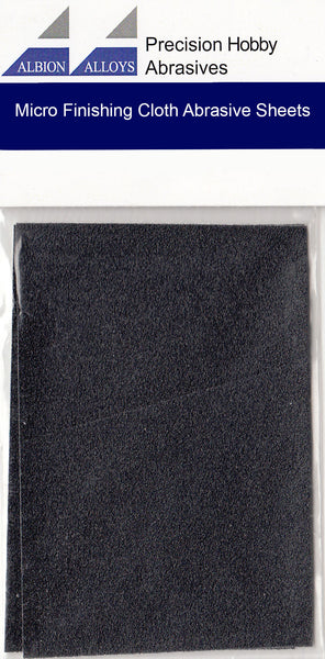ALBION ALLOYS 2064  3600 Grit Micro Finishing Cloth