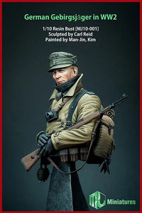 MJ MINIATURES MJ10-001 German Gebirgsjager in WW2 1:10 Scale