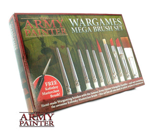 THE ARMY PAINTER ST5113 Mega Brush Set