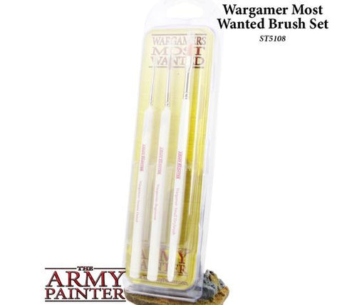 THE ARMY PAINTER ST5108 Most Wanted Brush Set