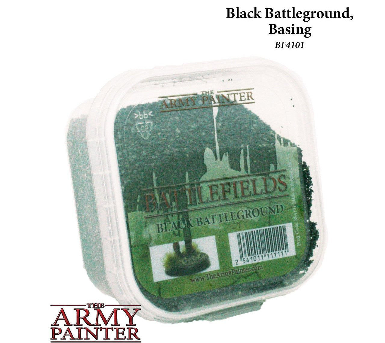 THE ARMY PAINTER BF4101 Black Battleground - Basing