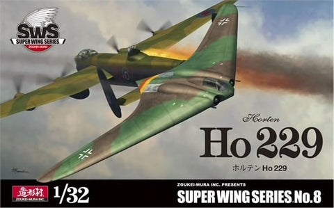 ZOUKEI-MURA  SWS08 Horten 229 Luftwaffe Jet fighter 1:32 Scale