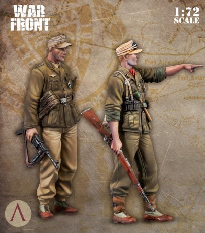 SCALE75 SW72002 DAK SOLDIERS  1:72 Scale Resin