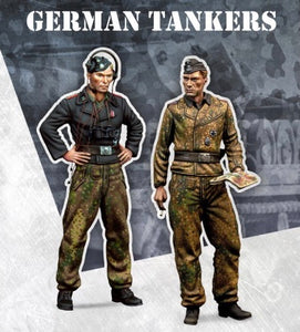 SCALE75 SW72001 GERMAN TANKERS 1:72 Scale Resin