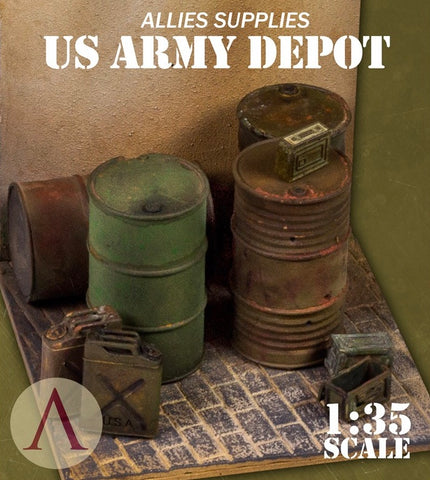 SCALE75 SW35015 US ARMY DEPOT 1:35 Scale Resin