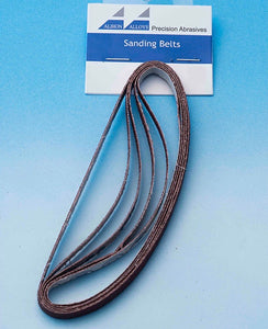 ALBION ALLOYS 365 5pk Sanding Stick Replacement Belts 240 grit