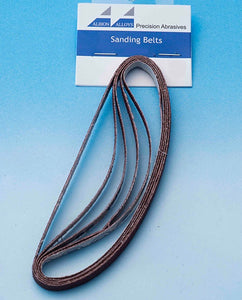 ALBION ALLOYS 367 5pk Sanding Stick Replacement Belts 400 grit