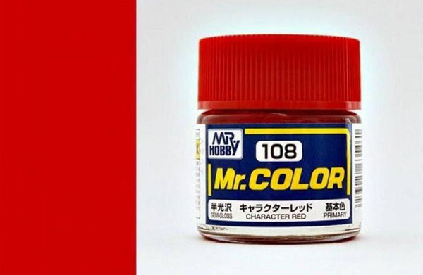 MR COLOR C108  Character Red Semi-Gloss 10ml