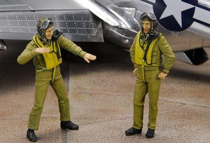 ZOUKEI-MURA SWS04-F02 P-51D Briefing Set 1:32 Scale